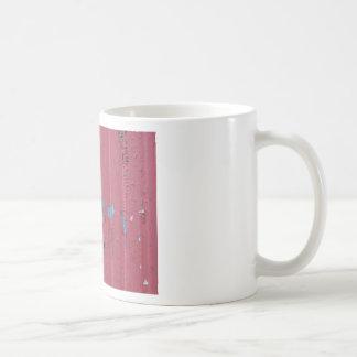 Fondo de acero acanalado del grunge del vintage taza de café