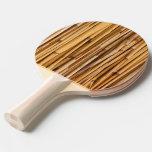 Fondo de bambú pala de tenis de mesa