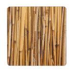 Fondo de bambú posavasos de puzzle