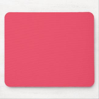 Fondo de color salmón de neón personalizado rosa c tapetes de ratones