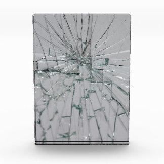 Fondo de cristal quebrado