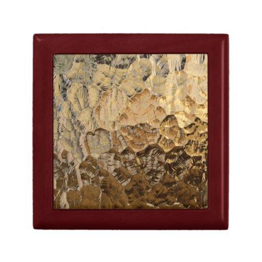 Fondo de cristal texturizado caja de regalo