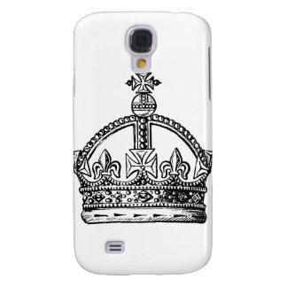 Fondo de Crown de rey Funda Para Galaxy S4