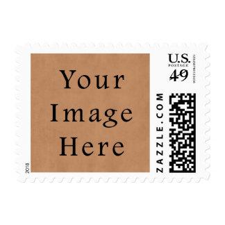 Fondo de cuero del papel de pergamino de Brown del Sello