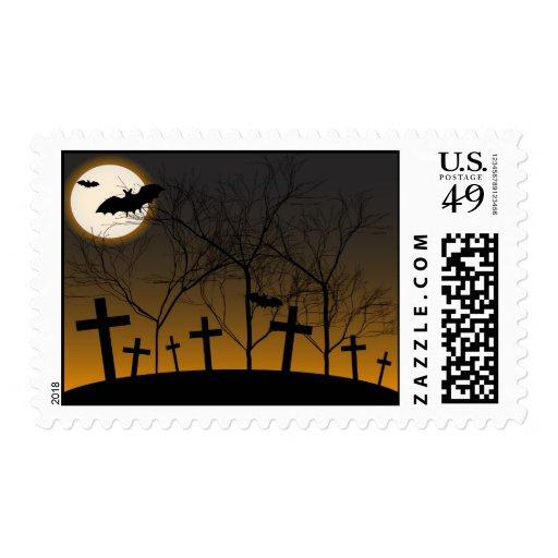 Fondo de Halloween Sello