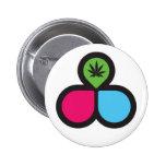 Fondo de investigación del cáncer de pecho - botón pins