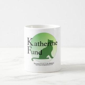 Fondo de Katherine Taza Básica Blanca
