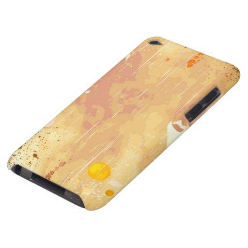 fondo de la acuarela barely there iPod coberturas