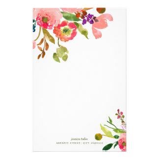 Fondo de la acuarela Floral/DIY de PixDezines Papelería De Diseño