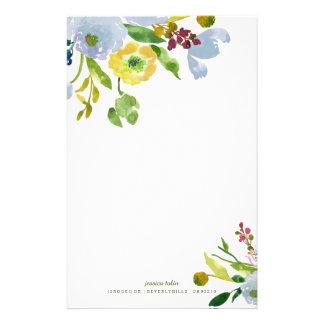 Fondo de la acuarela Floral/DIY de PixDezines Papeleria Personalizada