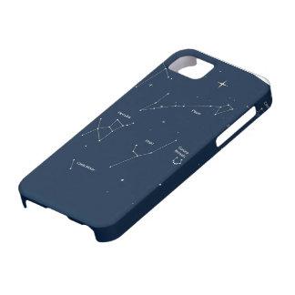 fondo de la astronomía iPhone 5 funda