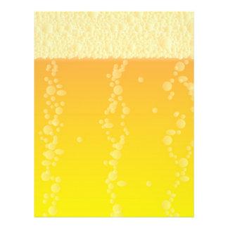 """Fondo de la cerveza folleto 8.5"""" x 11"""""""