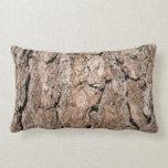 Fondo de la corteza del pino almohada