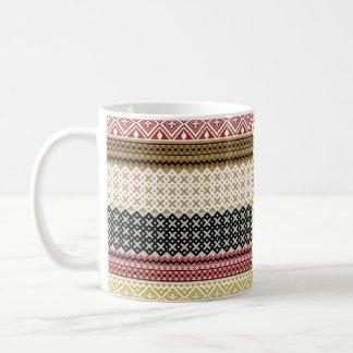 Fondo de la cultura americana tazas de café