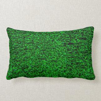 Fondo de la hierba verde cojín