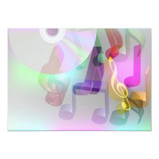 Fondo de la música comunicado