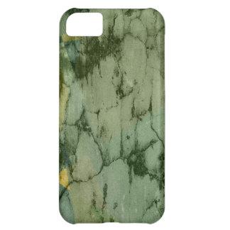 Fondo de la pared de la textura de la grieta del m funda para iPhone 5C