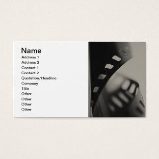 Fondo de la película tarjetas de visita