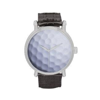 Fondo de la pelota de golf - plantilla Golfing de  Relojes De Mano