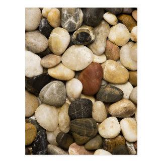 Fondo de la piedra de la roca del río - plantilla postal