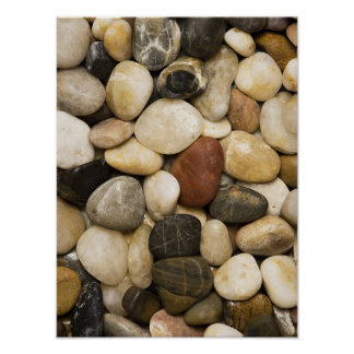 Fondo de la piedra de la roca del río - plantilla póster