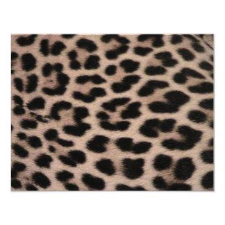 Fondo de la piel del leopardo comunicados personales