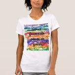Fondo de la pintura de la acuarela del teñido camisetas