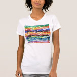 Fondo de la pintura de la acuarela del teñido camiseta