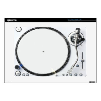 Fondo de la placa giratoria de DJ 38,1cm Portátil Calcomanías