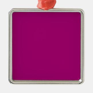 Fondo de la púrpura del ligón adorno cuadrado plateado