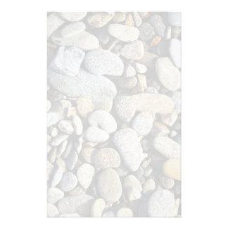 Fondo de la roca del río (guijarros)  papeleria