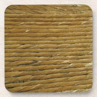 Fondo de la textura de la cuerda de la guita del h posavaso