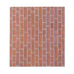 Fondo de la textura del ladrillo rojo bloc de papel