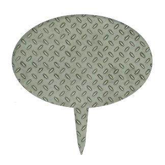 Fondo de la textura del metal de la placa del diam decoración para tarta