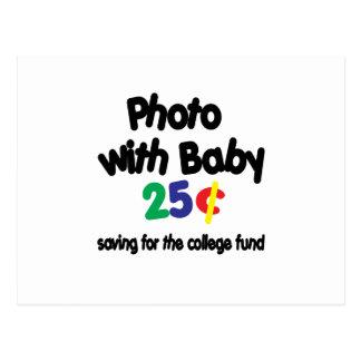 Fondo de la universidad de la foto tarjetas postales