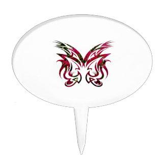 Fondo de la vela del diseño 1 de la máscara decoraciones de tartas