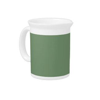Fondo de la verde salvia en una jarra