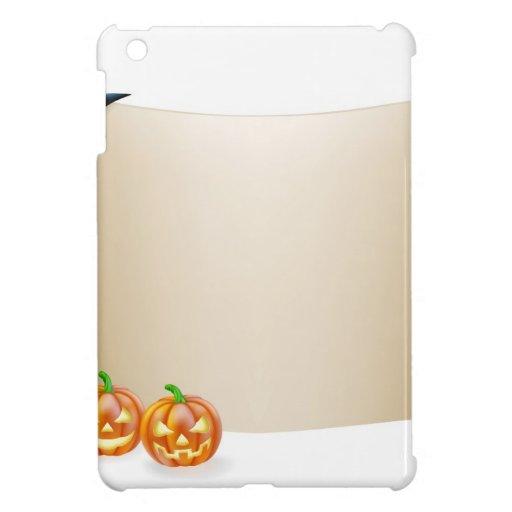 Fondo de la voluta de Halloween iPad Mini Funda