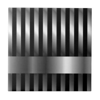 fondo de las barras de acero azulejo cuadrado pequeño