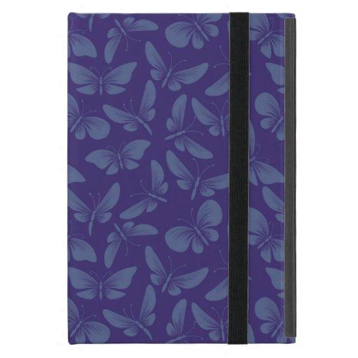 fondo de las mariposas de la polilla de la noche iPad mini protectores
