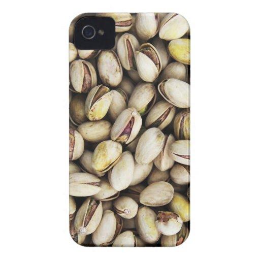 Fondo de las nueces de pistacho Case-Mate iPhone 4 cárcasas