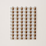 Fondo de las tazas de café puzzles con fotos