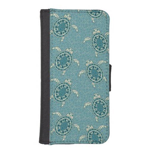 fondo de las tortugas cartera para iPhone 5