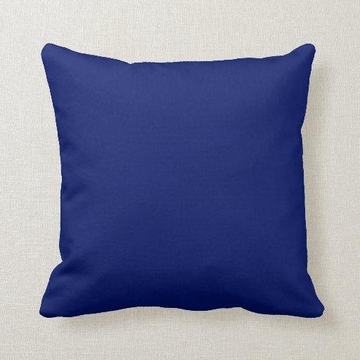 Fondo de los azules marinos en una almohada