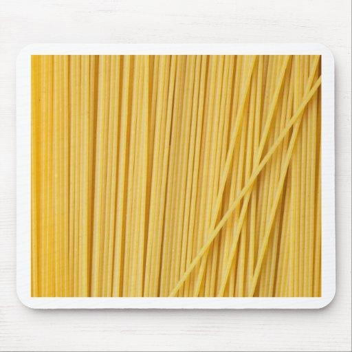 Fondo de los espaguetis alfombrillas de ratón