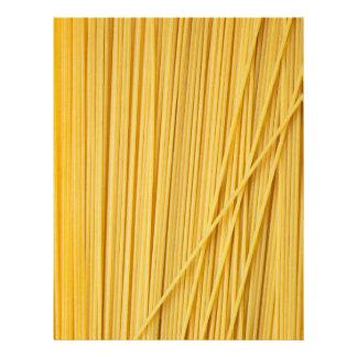 Fondo de los espaguetis membretes personalizados