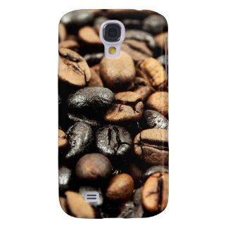 Fondo de los granos de café carcasa para galaxy s4