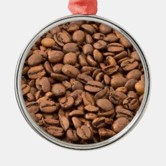 Fondo de los granos de café ornamentos para reyes magos