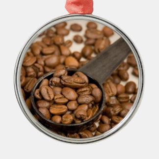 Fondo de los granos de café adorno para reyes