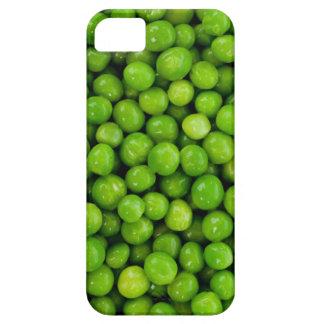 Fondo de los guisantes verdes iPhone 5 funda